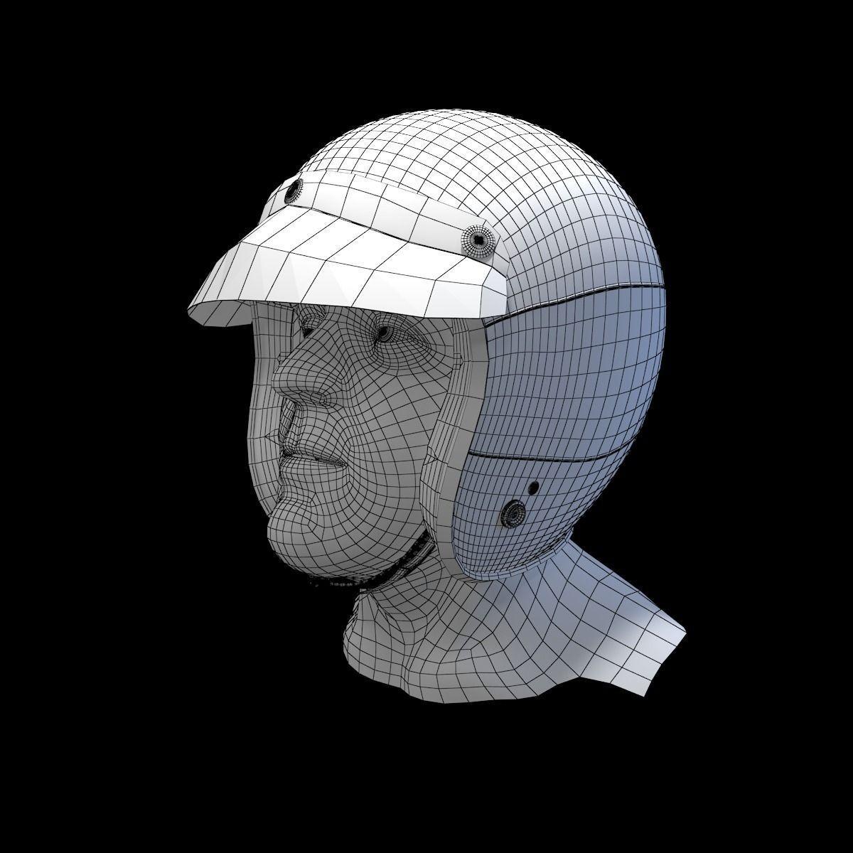 Motorcycle Helmet 3d Model Free Download