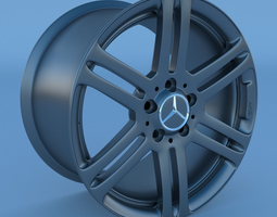 3D Mercedes Benz AMG Rim