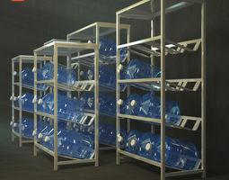3D office racks