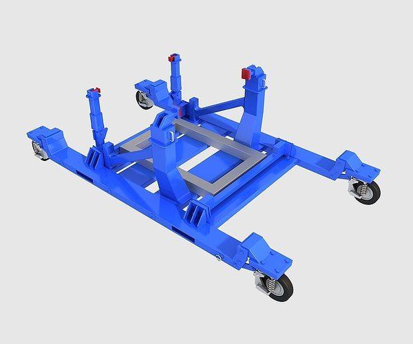 engine bracket 3d model max obj 3ds fbx mtl 1