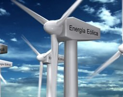 3D Wind Eolic Turbine