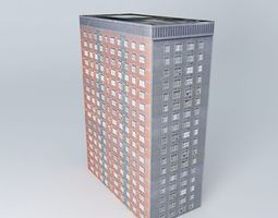 Apartment Building on A406 London 3D