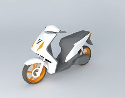scooter honda beat 3d