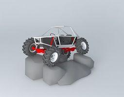 3D model buggy render for NSC3