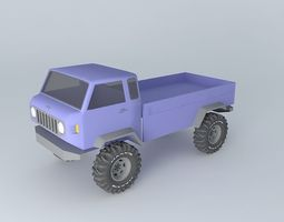 Jeep Mighty FC Concept work in progress 3D