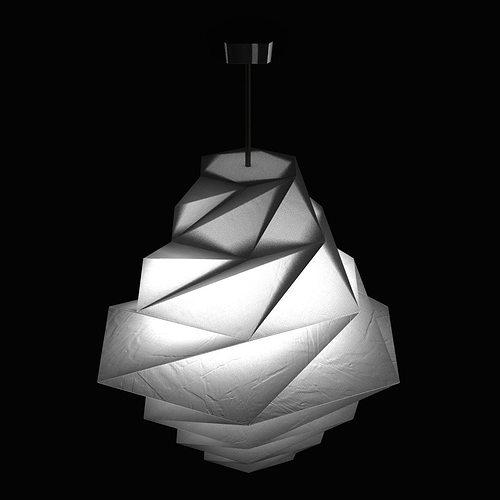 Fukurou Pendant Light By Issey Miyake From Artemide