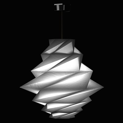 Fukurou pendant light by issey miyake from artemide for Artemide issey miyake