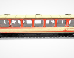 Passenger wagon WS 01 3D model