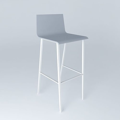 Bar chair seattle white houses of the world 3d model max for Furniture removal seattle