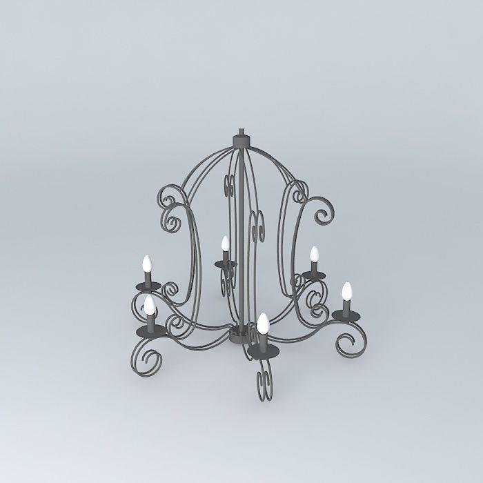 Avignon suspension Maisons du monde | 3D model