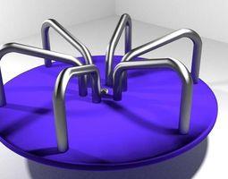 3D model Playground Element - Merry Go Round