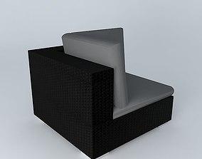 3D Angle chair ANTIBES