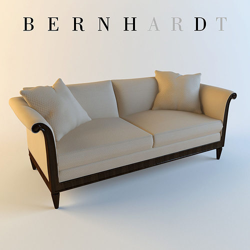 Bernhardt Traditional Sofa 3D Model