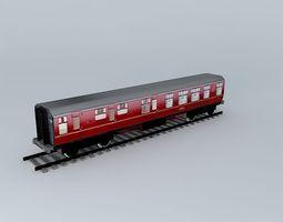 3d model eco rail track standard dummy old steam days
