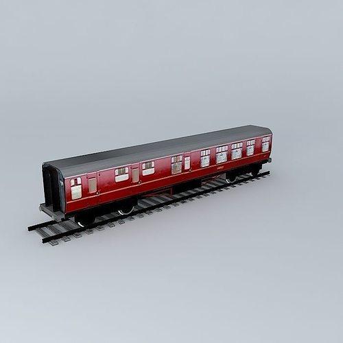 eco rail track standard dummy old steam days 3d model max obj mtl 3ds fbx stl dae 1
