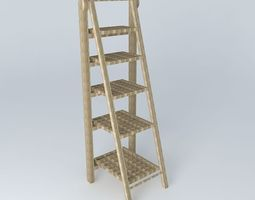 newport ladder shelf houses of the world 3d