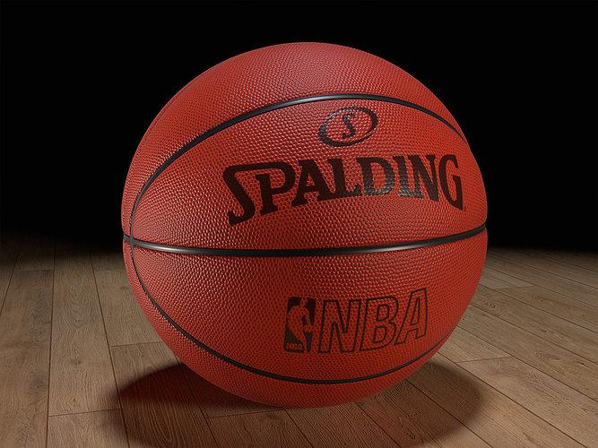 Basketball texture 3d