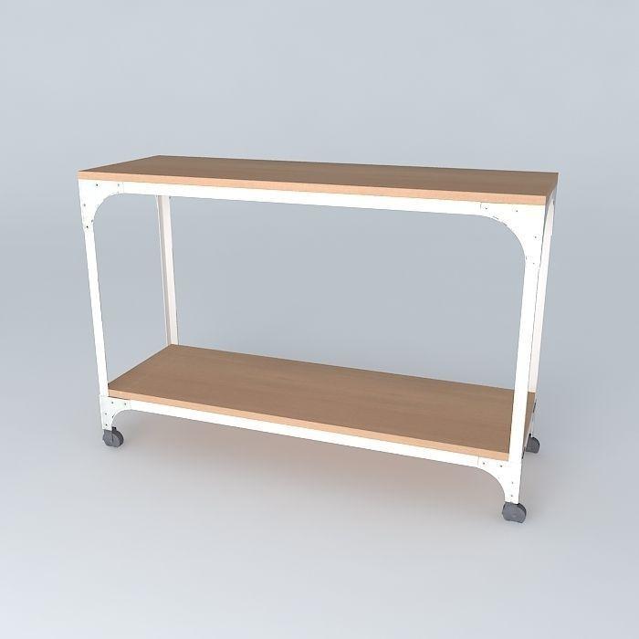 console arcachon maisons du monde 3d model max obj 3ds fbx stl dae. Black Bedroom Furniture Sets. Home Design Ideas