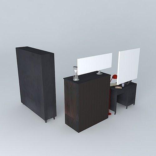 the office edison houses of the world 3d model max obj 3ds fbx stl dae 1