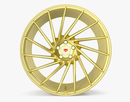 3D model Vossen VPS 304 Gold