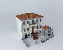 3D model Hotel nine muses