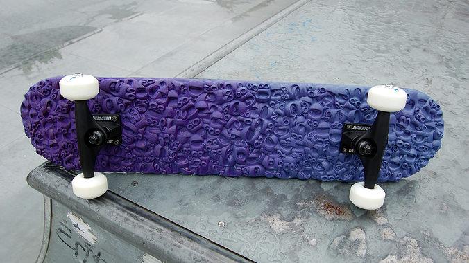 skateboard deck 3d model stl 1