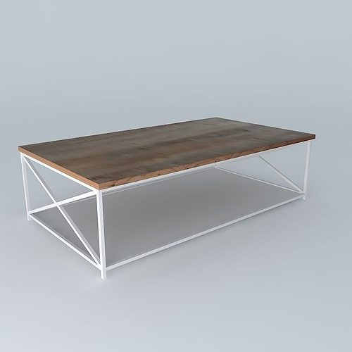 Coffee table bergen houses the world 3d model max obj 3ds for Table bergen