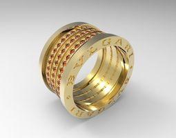 bulgary ring big 3d printable model