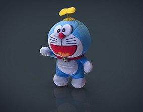 3D model Doraemon Cat Dolly