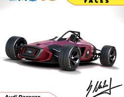 3D Audi Concept Racecar - Auto Union