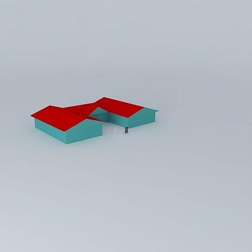 Pikangikum school project 3D | CGTrader