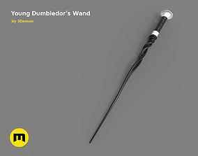 New Wand - Young Albus Dumbledore 3D print model