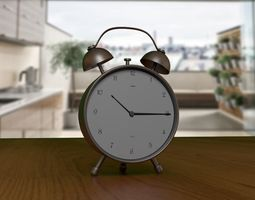 3D asset Alarm - Table Clock