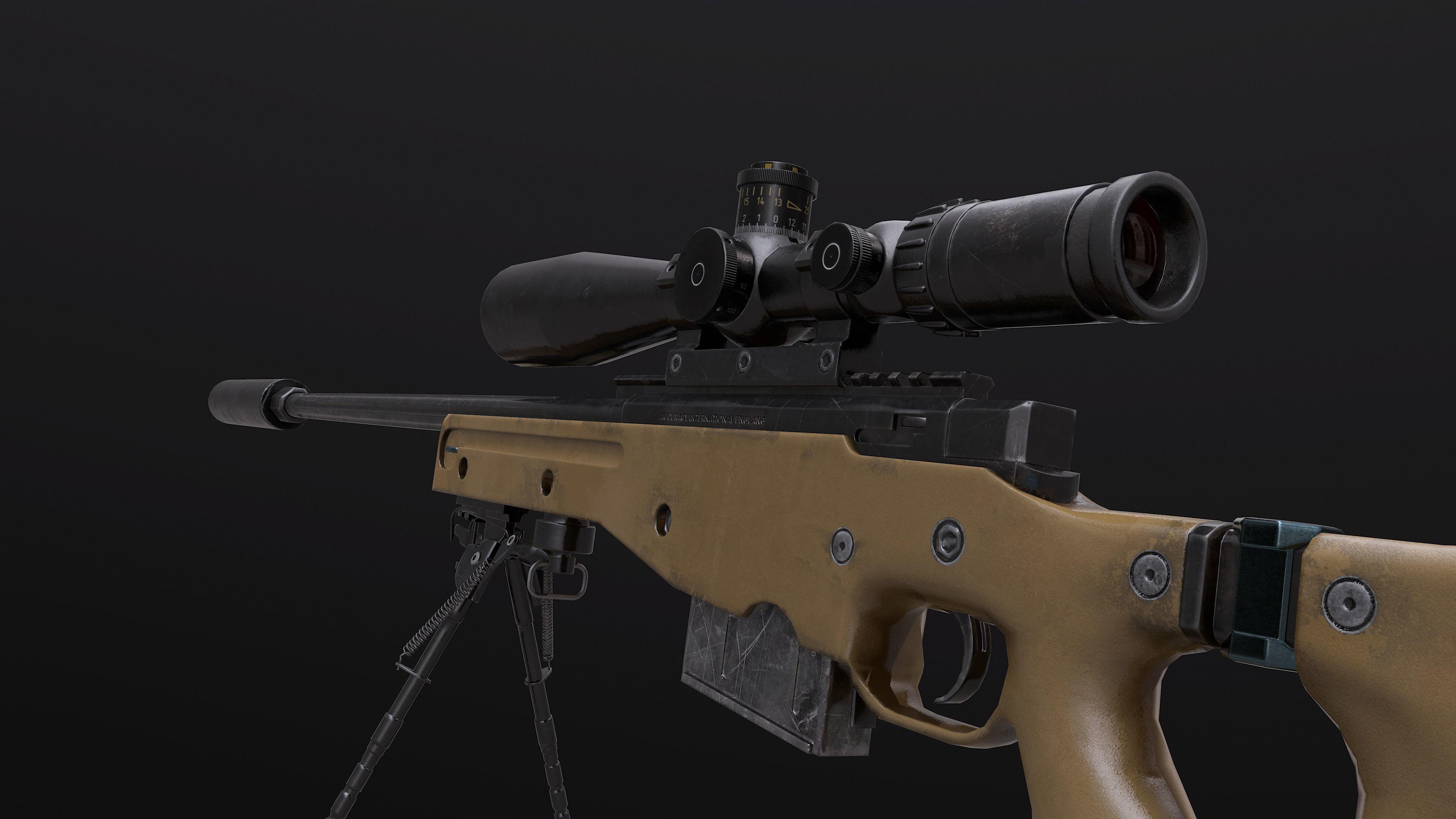 AWM AWP Sniper Rifle