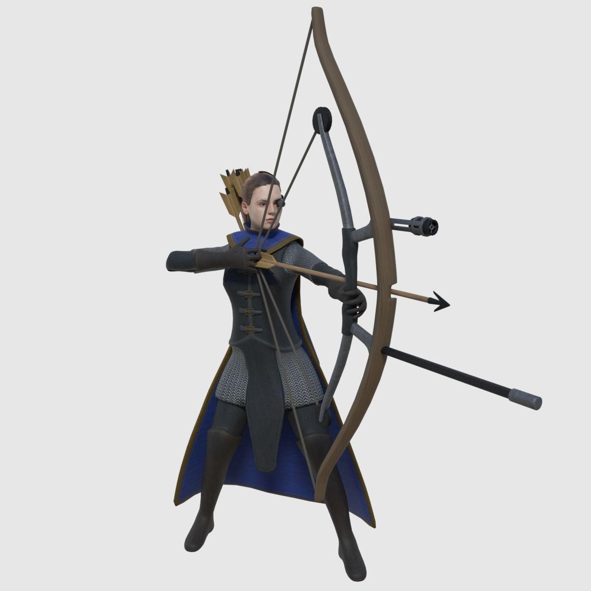 Fantasy Steampunk Archer