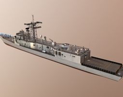 USA NAVY Perry class missile destroyer 3D asset