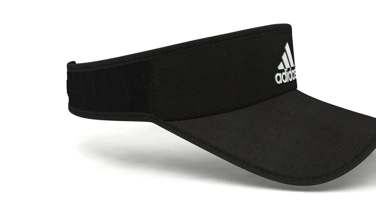 822c7dbb7ba ... discount code for view fullscreen stable quality 10f0e 1da6c adidas  superlite visor cap low poly 3d