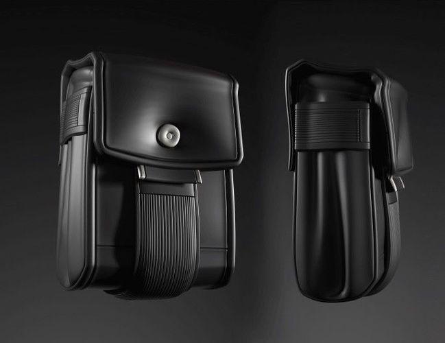 small bag 3d model obj mtl 1