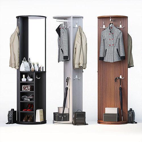 set of clothes shoes and accessories for mix 4 wardrobe 3d model max obj mtl fbx mat 1