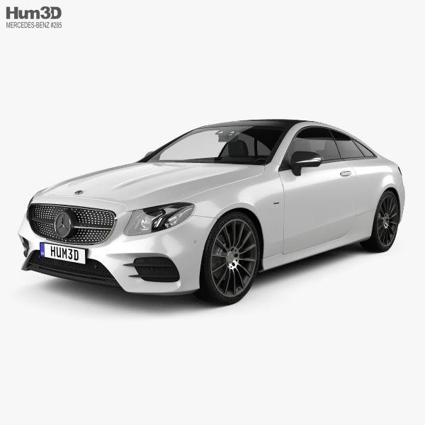 Mercedes-Benz E-Class C238 Coupe AMG Line 2016 3D Model
