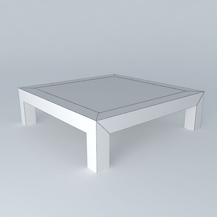 coffee table bruges maisons du monde 3d model max obj 3ds fbx stl dae. Black Bedroom Furniture Sets. Home Design Ideas