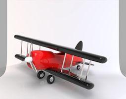3D model toy airplane 3dairplanemodel