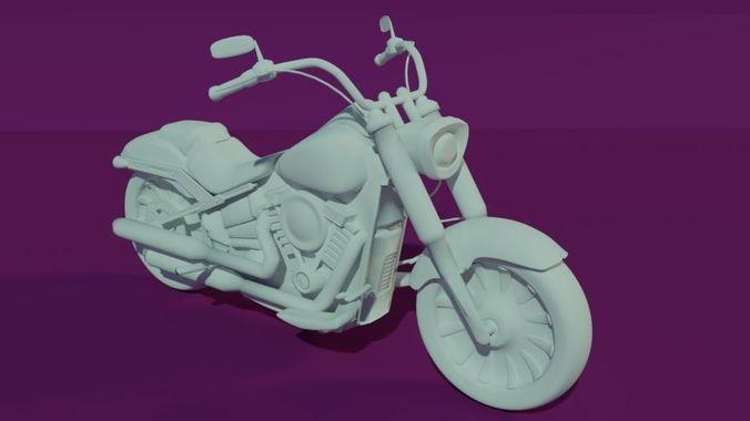 Harley Davidson -  FATBOY107