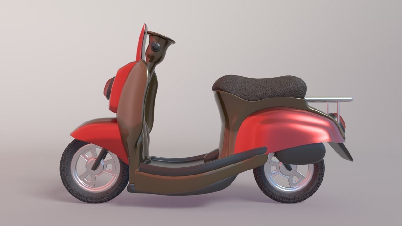 3D Delivery Scooter