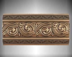 3D model Arabian molding