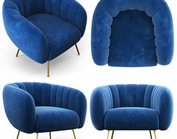 Cult Living Effie Armchair 3D model