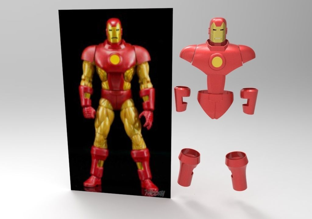Iron Man classic vintage wearable armor