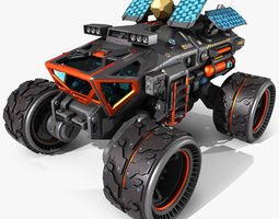 3D model Exoplanets Rover