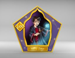 3D model Wizard Cards