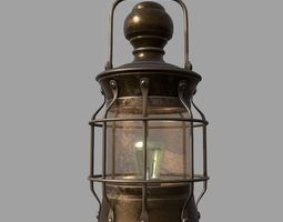 Old Lantern 3D asset